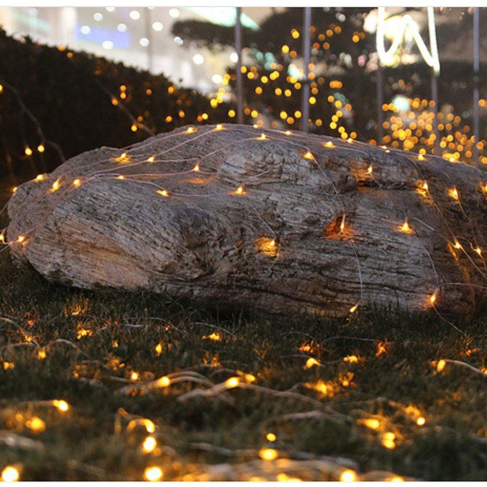 3M LED Lichternetz Lichterkette mit 300 LEDs Weihnachten mit Steuerbox VINGO 3