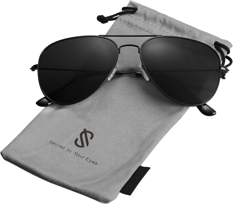 SOJOS Damen Herren Sonnenbrille Polarisiert Brille UV400 Schutz Vintage Runde Kleine f/ür Schmales Gesicht SJ2113