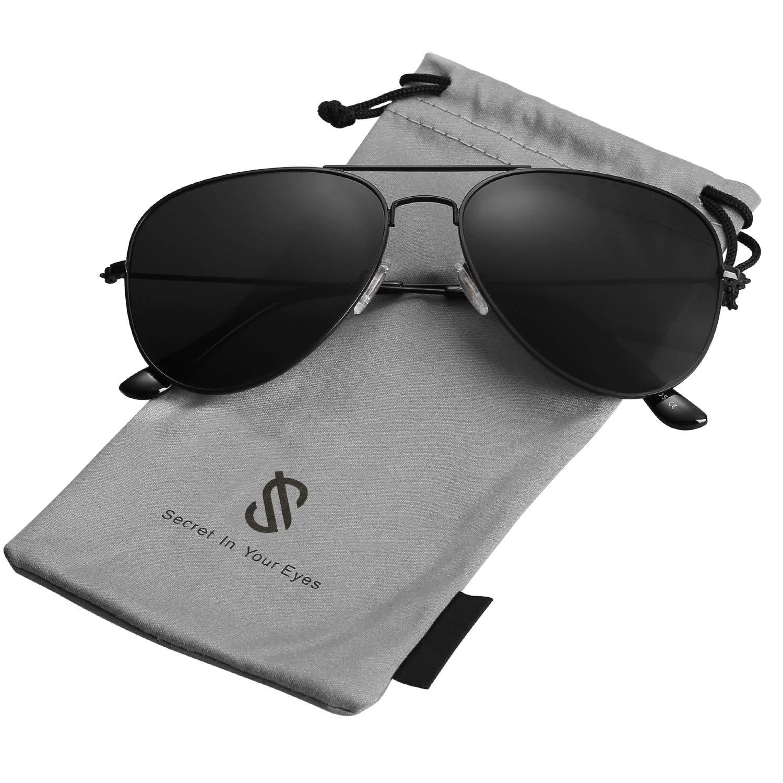 Amazon.com: SojoS SJ1054 gafas de sol clásicas de ...