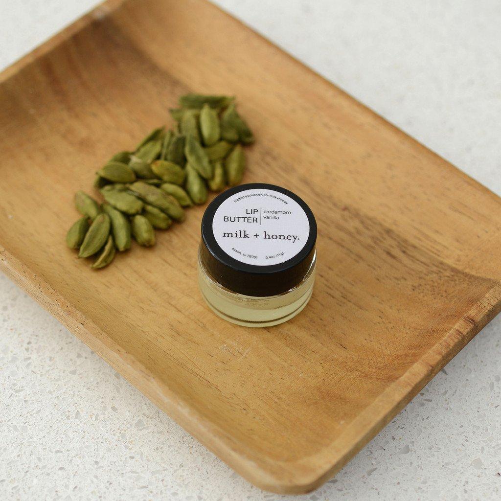 milk + honey Lip Butter No. 40 (Vanilla, Cardamom) by Milk & Honey