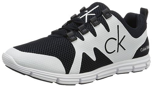 9e26a91819 Calvin Klein Jeans Men s Navy White Murphy Sneakers 11 F(M) UK   12 ...
