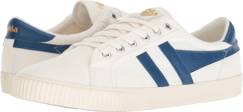 Gola Men's Tennis Mark Cox Sneaker B07BQXWPJG 11 D(M) US Off-white/Heritage Blue