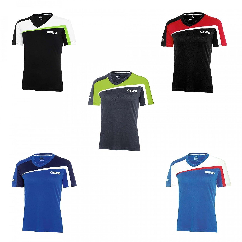 GEWO Camisa Teramo Lady S18 - 3, Nine Iron/Lime, Medium: Amazon.es ...