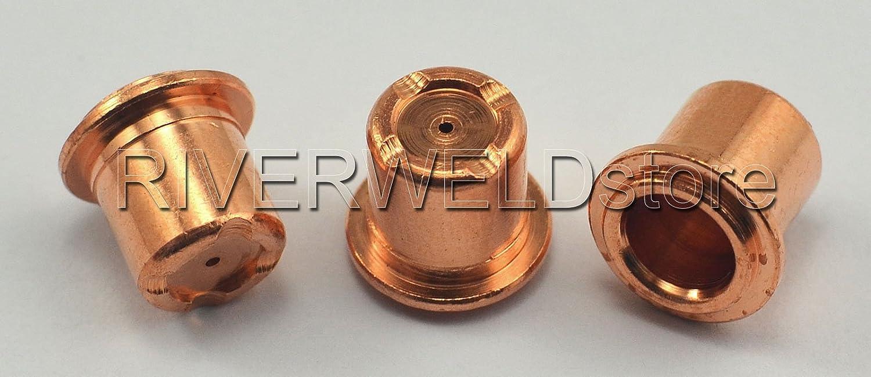 20PK PR0109 Plasma Electrode /& PD0105 Plasma Tips Adaptar A81 A80 P80 Antorcha Plasma