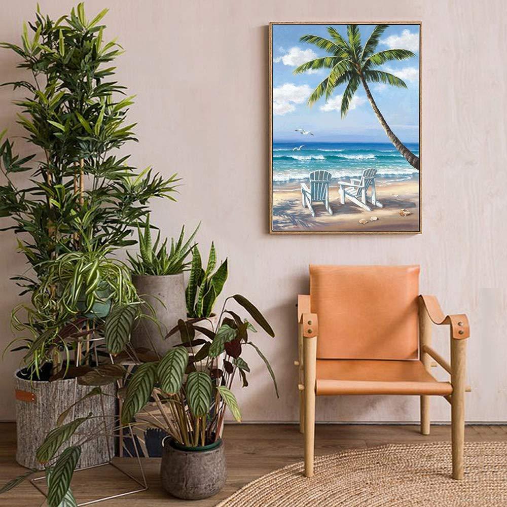 5d Diamond Painting Kits for Adults Full Drill Diamond Dotz for Home Wall Decor Sea, 30x40cm