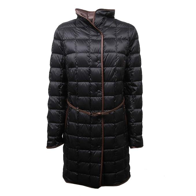 new product 7b3e8 5b7cf Fay C4074 Giubbotto Donna Piumino Nero Trapuntato Jacket ...