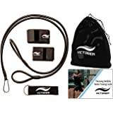 Victorem Throwing Mobility Bands – Bonus Carrying Bag, Connecting Strap, & Workout Guide – Baseball, Softball, Quarterback, Exercise Resistance Bands – Arm Strength, Conditioning, Warmup - PT
