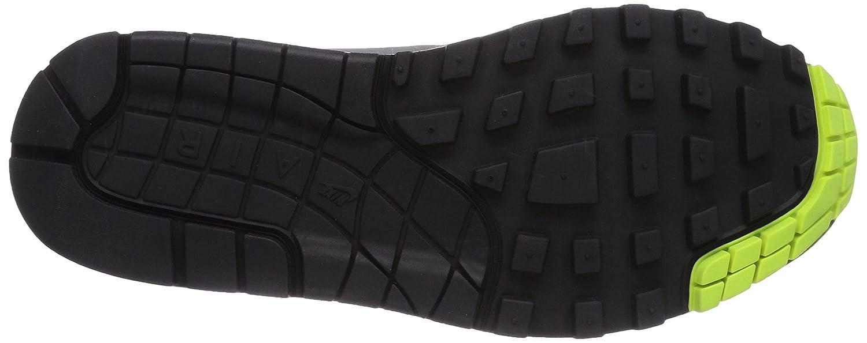 Nike Air Max 1 Sneakerboot - Zapatillas para mujer, color mehrfarbig (black/volt-anthrct-mtllc slvr), talla 38