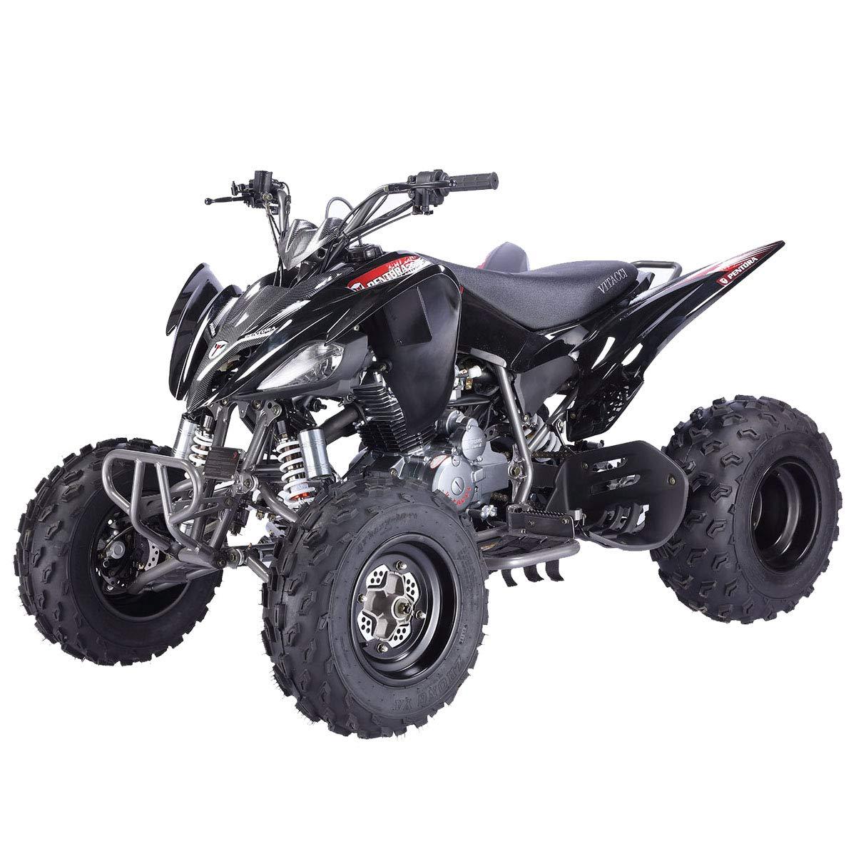 X-Pro 150cc ATV Quad Utility Full Size ATVs Quads 150cc 4 Wheeler Adult ATV with Gloves Goggle and Handgrip