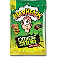 Warheads Extreme Sour Hard Candy 56 g, 56 g