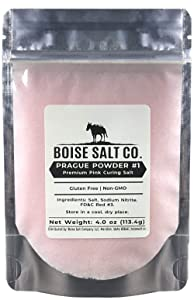 Boise Salt Co. Prague Powder #1 Premium Pink Curing Salt 4oz