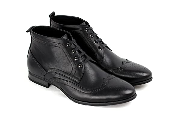 JAS Mens Casual Ankle Boots Fashion Chelsea Shoes: Amazon.co.uk: Shoes &  Bags