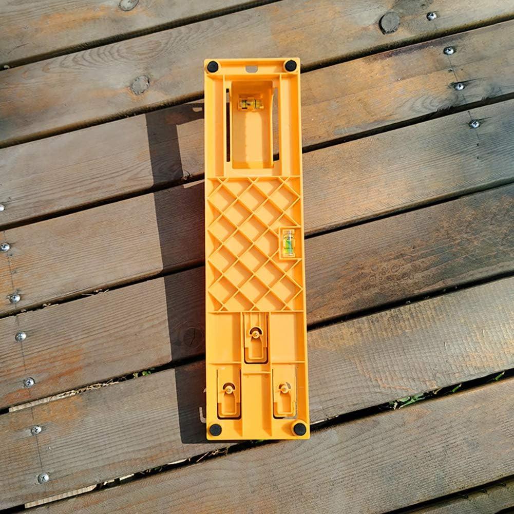 jaune outil de mesure de cadre de photos outil /à main pour marquer la position et mesurer la suspension r/ègle de niveau /à bulle Outil de suspension multifonction pour cadres