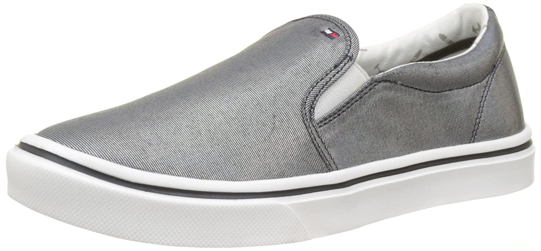 79f1436aa Tommy Hilfiger Women s Metallic Light Weight Slip on Low-Top Sneakers