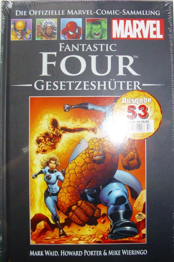 Die offizielle Marvel-Comic-Sammlung 31: Fantastic Four - Gesetzeshüter