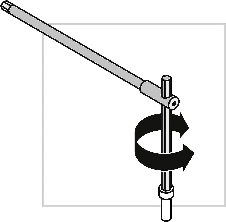 Unbegrenzte Garantie 100/% Swiss Made PB Swiss Tools 3-fach Sechskant-Schraubendreher mit Gleit-Quergriff PB 1204.8 8 mm