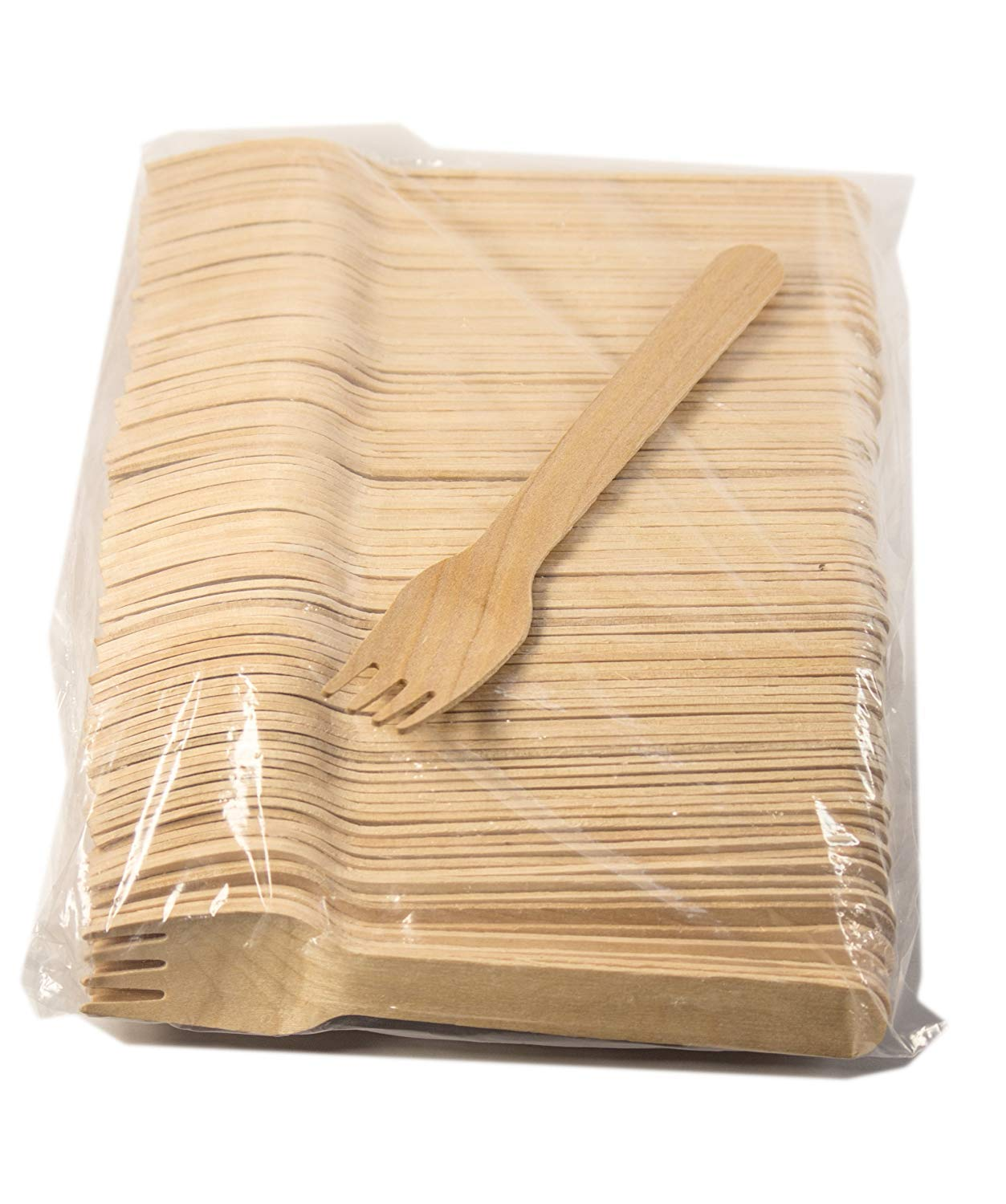 Perfect Stix-Sucre Shop Sucre Sweater Forks-18ct Holiday Wooden Cutlery Forks (Pack of 18)