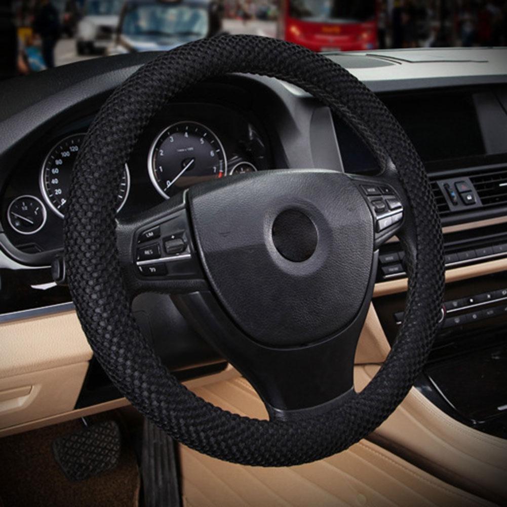 RUNGAO Funda para volante de coche universal y resistente con elá stico