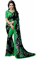 Ishin Women's With Blouse Piece Georgette Saree