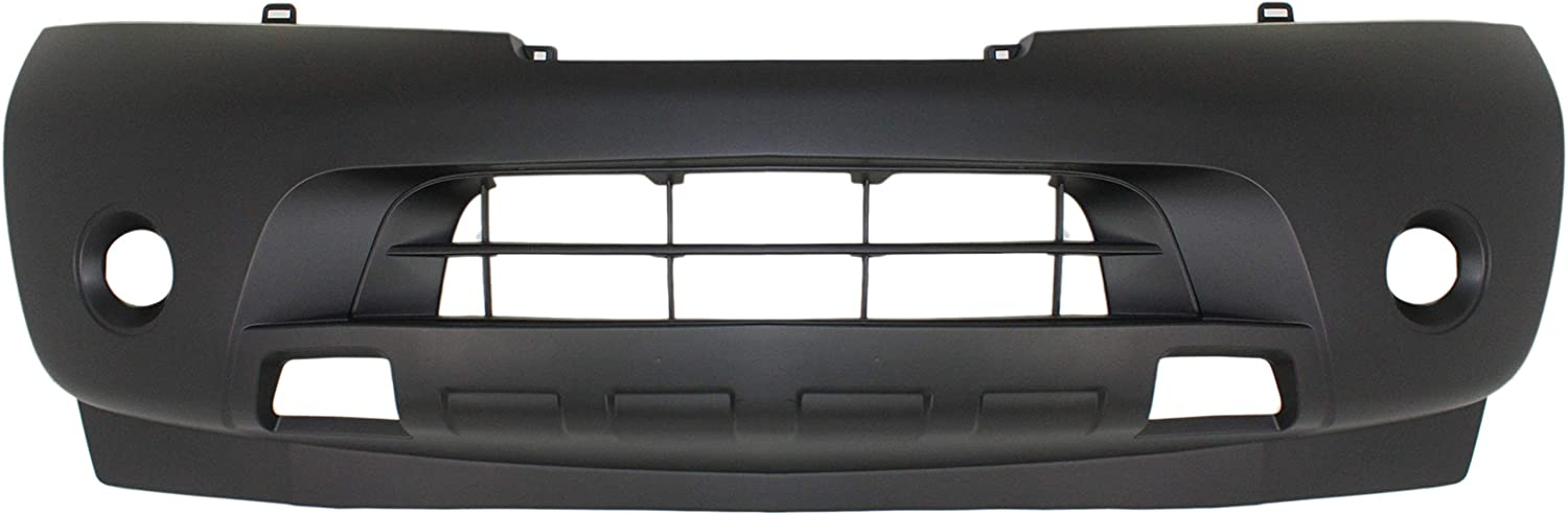 Front Bumper Cover Compatible with NISSAN ARMADA 2008-2015 Primed with Park Distance Sensors