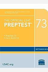 The Official LSAT PrepTest 73 (Official LSAT PrepTests) Kindle Edition