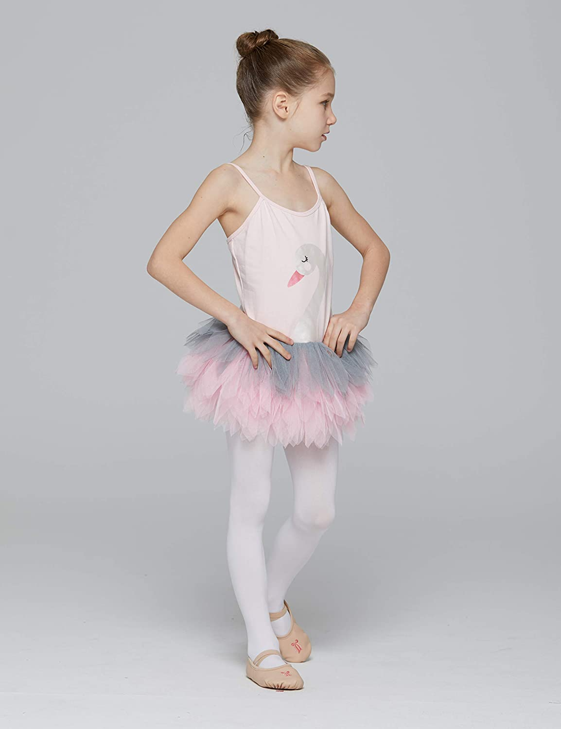 Amazon.com: MdnMd Camisole Swan Lake Leotard - Leotardo para ...
