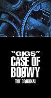 """GIGS"" CASE OF BOφWY -THE ORIGINAL-(完全限定盤)(4CD+Tシャツ+ステッカー)"