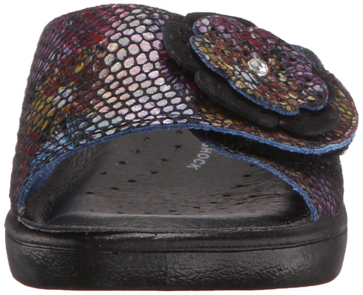 sandalia fabia fabia multi slide de spring step para mujer spring negro multi 59981dc 48hspace