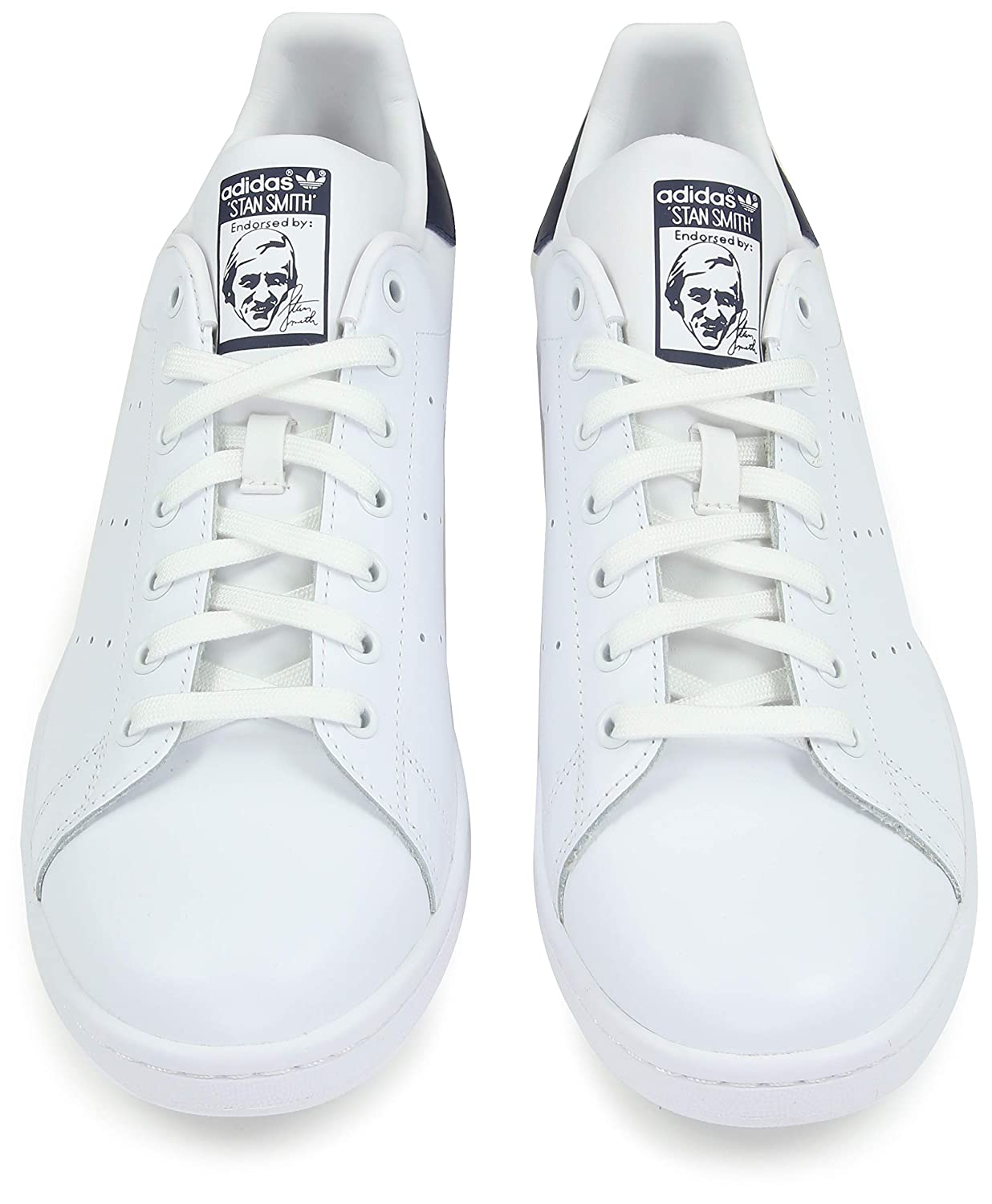 adidas Originals Originals Men s Stan Smith Cwhite and Dkblue Sneakers - 7  UK India (40.67 EU) (M20325)  Buy Online at Low Prices in India - Amazon.in 8146077f5a8e