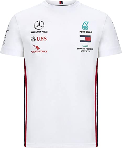 Official Formula one - Mercedes-AMG Petronas Motorsport 2020 - Camiseta de equipo en color negro - M: Amazon.es: Deportes y aire libre