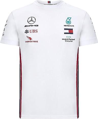 Mercedes AMG Petronas Camiseta Motorsport Team F1 Formula Driver: Amazon.es: Ropa y accesorios