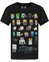 Minecraft Boys' Minecraft Short Sleeved T-shirt