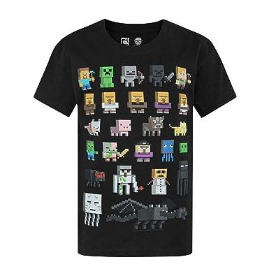 Amazon.com: Minecraft Boys' Minecraft Short Sleeved T-shirt: Clothing
