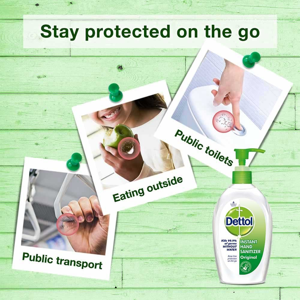 Buy Dettol Original Instant Hand Sanitizer 200 Ml Pack Of 2 Wash Sensitive Pouch Pcs Online At Low Prices In India