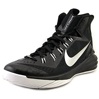 sports shoes 3397e b07ee Amazon.com   Nike Mens Hyperdunk 2014 TB Basketball Shoe (18 D(M) US, Black  White Metallic Silver)   Fashion Sneakers