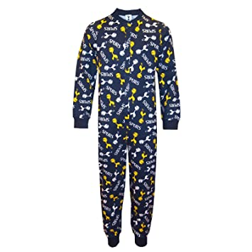 23bea9746 Tottenham Hotspur FC Official Gift Boys Kids Pyjama All-In-One Navy ...