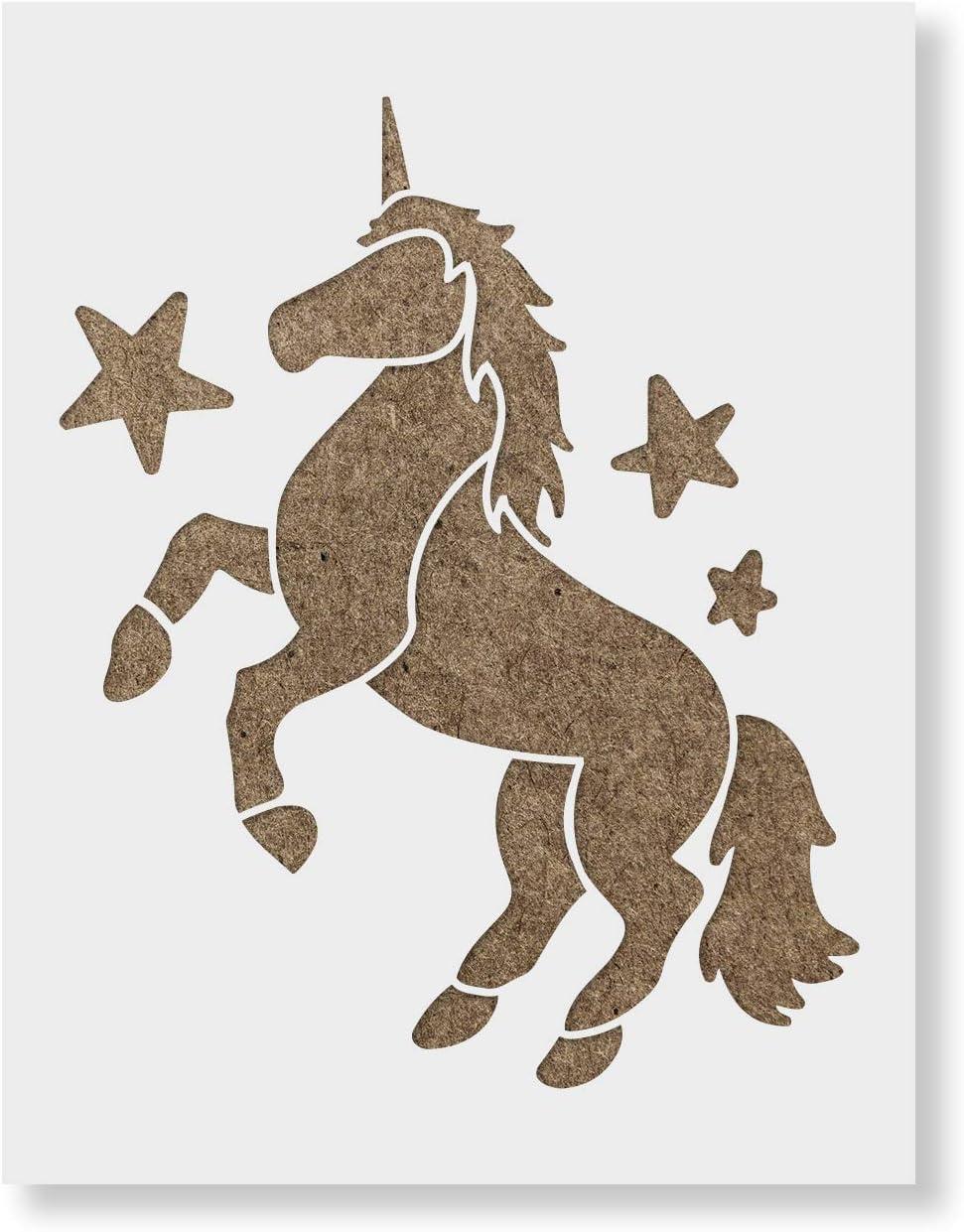 reusable-unicorn-stencil-template