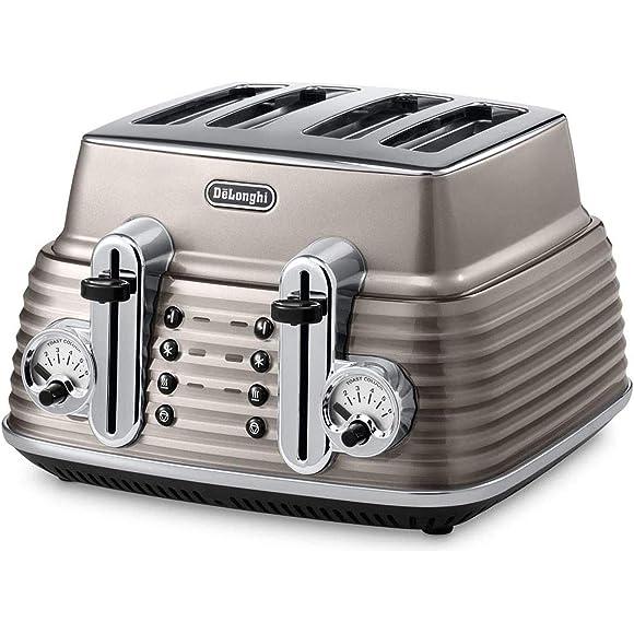 Delonghi Champagne Scultura Toaster