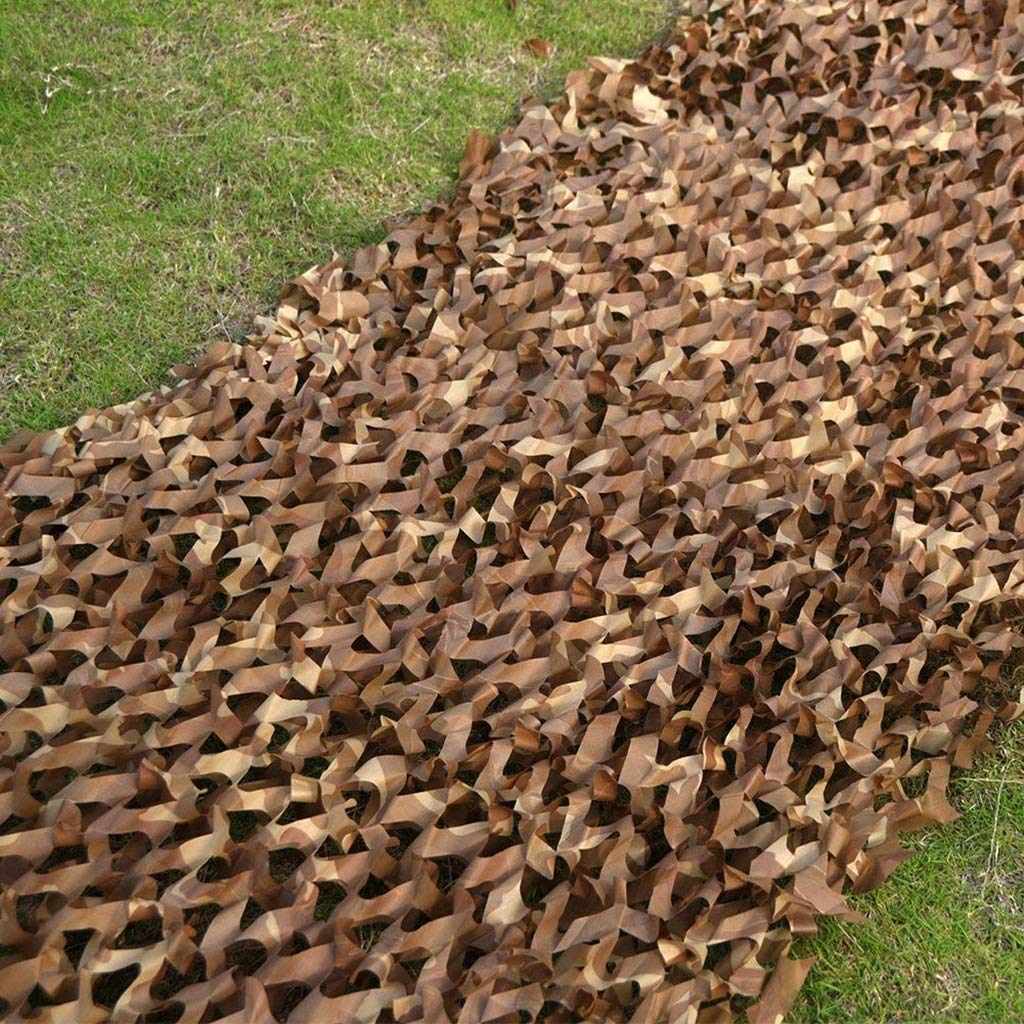 Xiuyun Rete da Camuffamento da Esterno in Tessuto Oxford Oxford Oxford Camouflage Net (Coloreee   Desert Camouflage, Dimensioni   6M×8M) B07HHV3N2C 6M×8M Desert Camouflage | Alta sicurezza  | New Style  | Eccezionale  | Imballaggio elegante e robusto  70967a