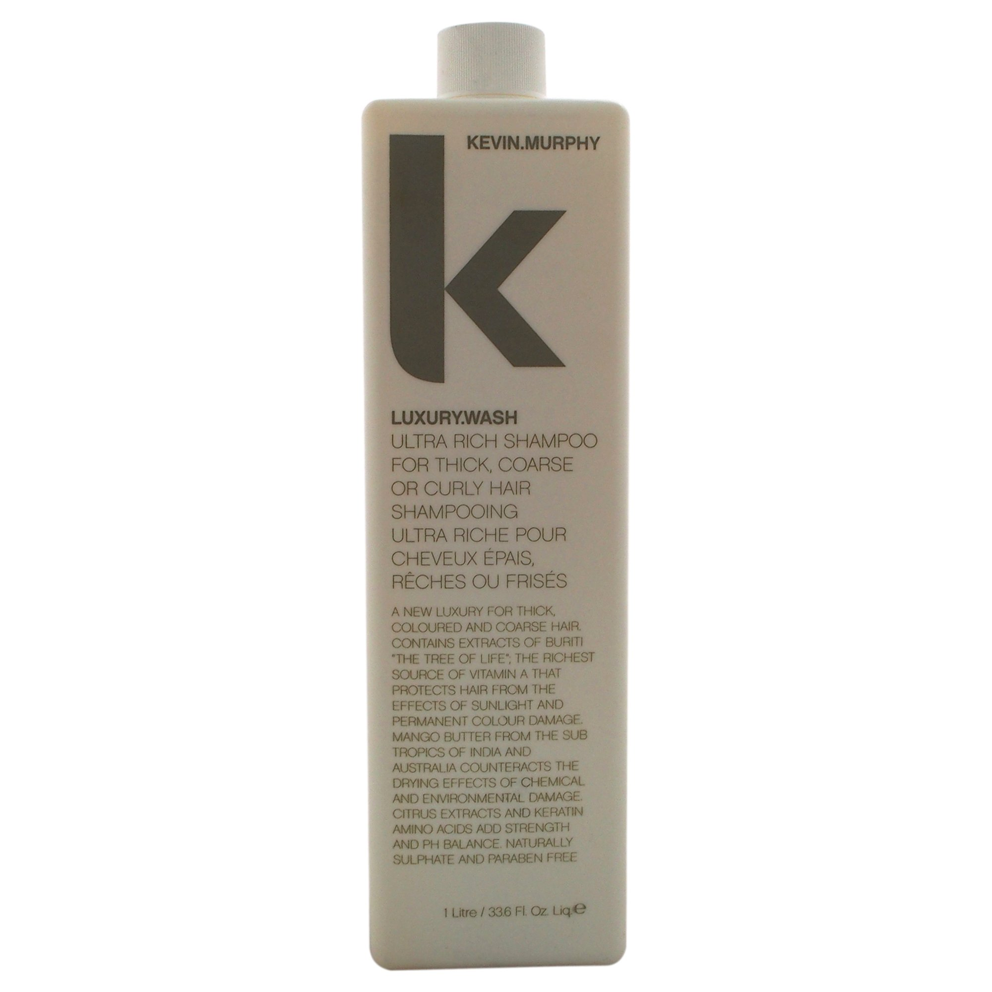 Kevin Murphy Luxury Wash Shampoo for Thick, Coarse or Curly Hair, 33.6 Ounce