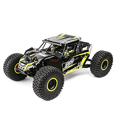 Losi 1/10 2.2 Rock Rey 4WD RC Rock Racer Brushless RTR with AVC and 2800Kv Brushless Power System (Battery and Charger Not Included): LOS03009T1, Yellow, 1:10 Scale: Toys & Games