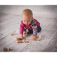 Cesto de los Tesoros Montessori 14 piezas, Panera dels Tresors, Regalo para bebés