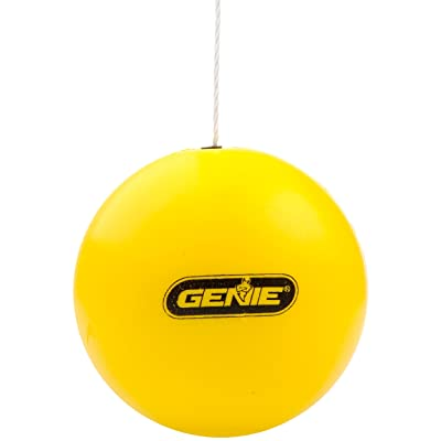 Genie Yellow Perfect Stop Parking Aid – Retractable Ball Compatible with All Garage Door Openers-GPS-R, one Size: Home Improvement