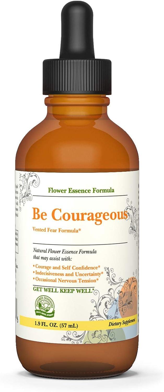 Nature's Sunshine Be Courageous Vented Fear Formula 2 Fl Oz