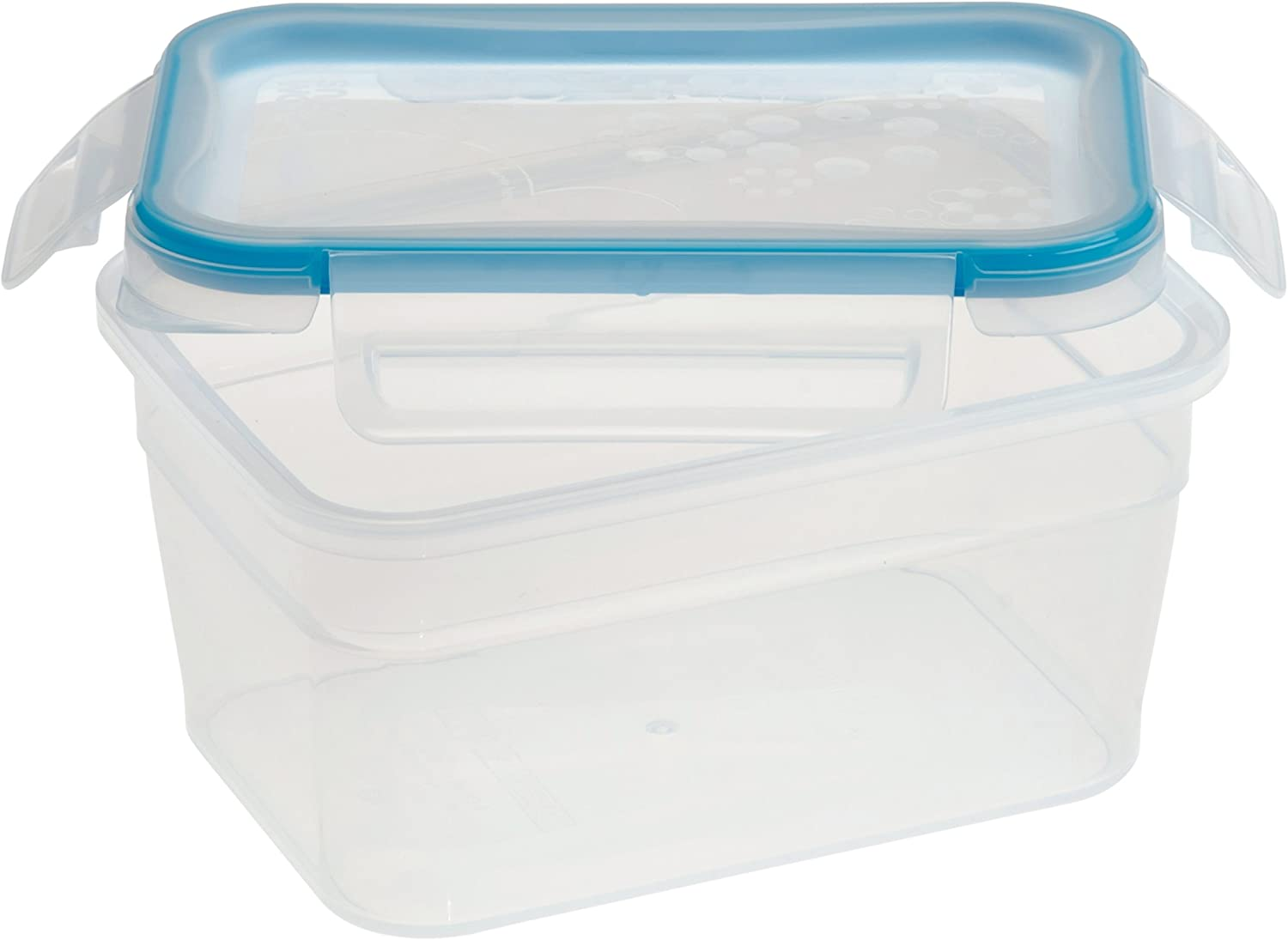 Snapware Total Solution Rectangular Plastic Food Storage Set (5-Cup, BPA Free, Meal Prep, Leak-Proof, Microwave, Freezer and Dishwasher Safe)