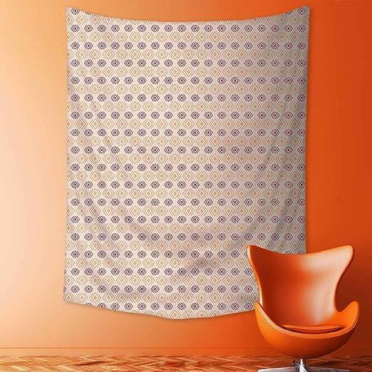 Analisahome - Tapiz de Pared con diseño de Rayas Zigzag ...