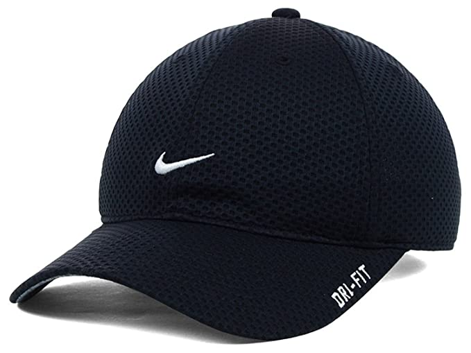 975c072cdec Image Unavailable. Image not available for. Colour  Nike Adult Unisex  Tailwind Running Golf Tennis Cap Black
