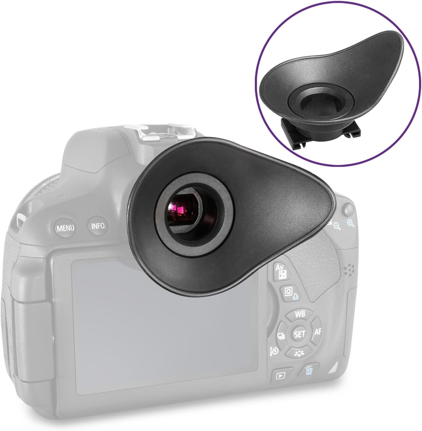 Oculare Canon rubbereyepiece Per Canon Ef 300D 650D Rebel TI Rebel XS Kiss 7