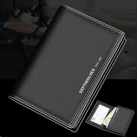 Tarjeteros Cajas para tarjetas de visita Bolso de cuero grande ...
