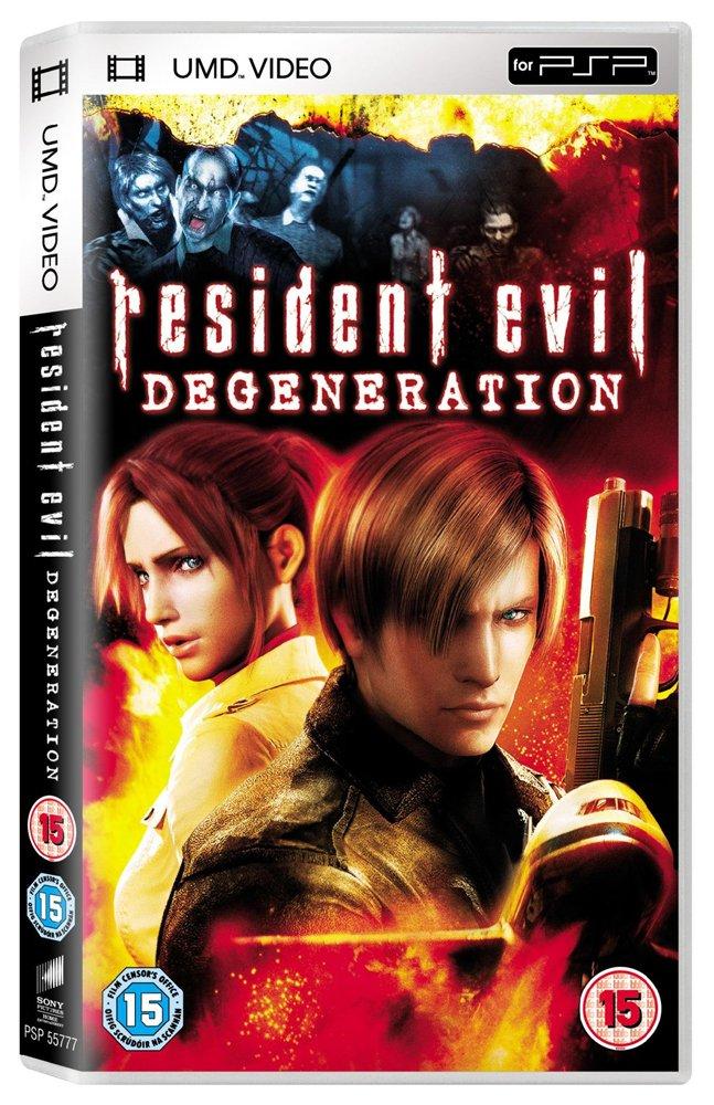 Resident Evil: Degeneration Reino Unido UMD Mini para PSP: Amazon ...